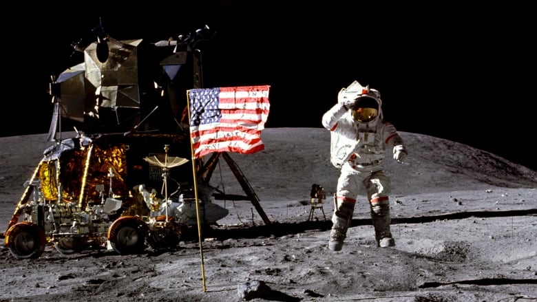 Astronaut John Young, who walked on the moon and flew the 1st space