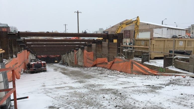 LRT tunnelling back on track after stop-work order lifted CBC News