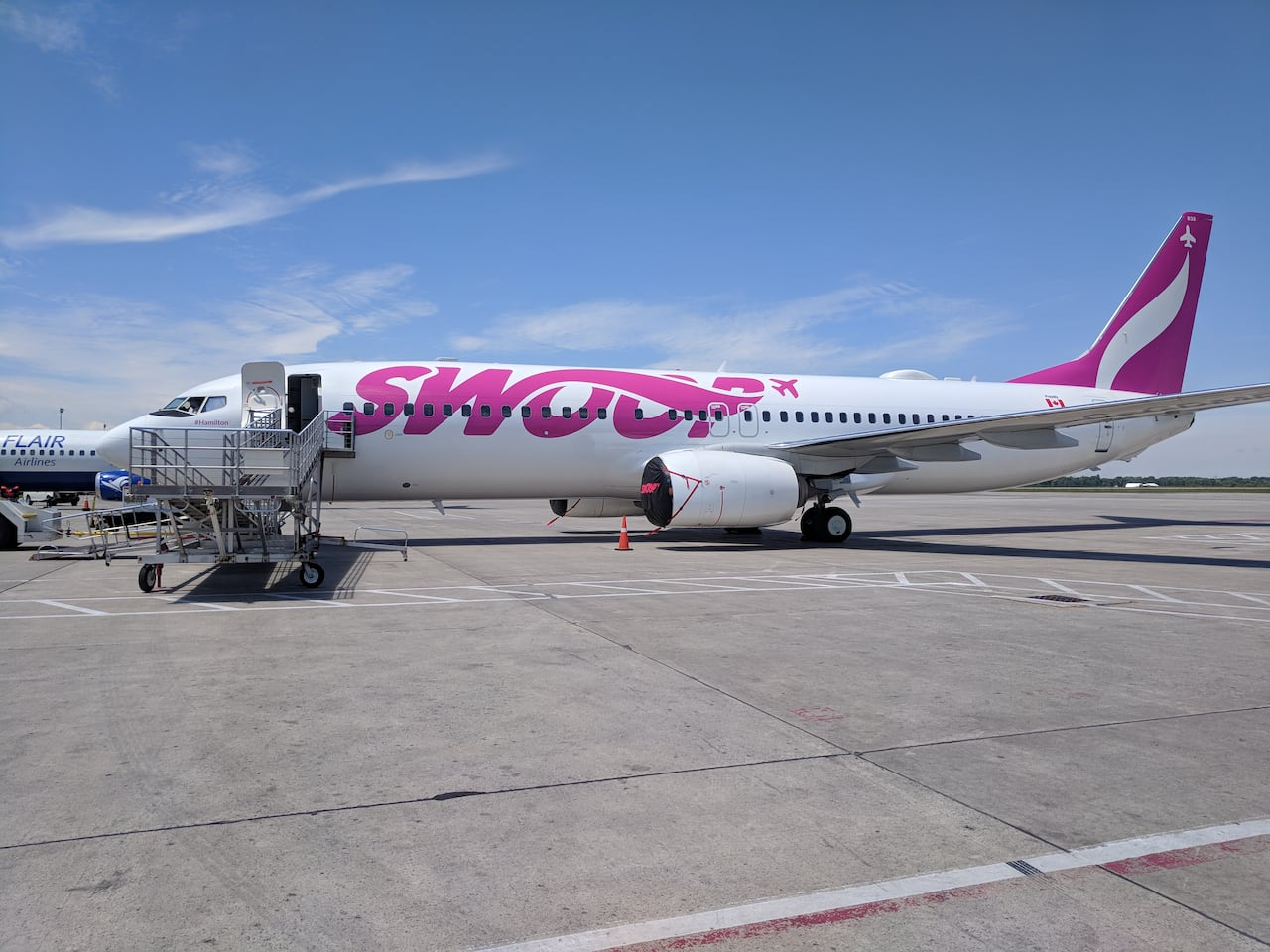 Flights With West Jet Westjet Enters The Ultra Low Cost Flying Space With Swoop Cbc News