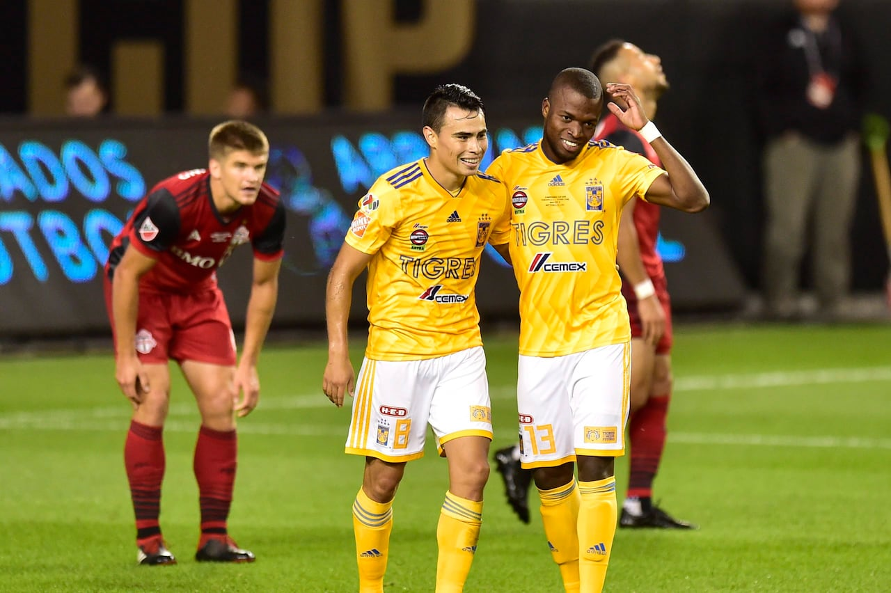 Tigres Mexico S Tigres Down Toronto Fc In Campeones Cup Battle Of