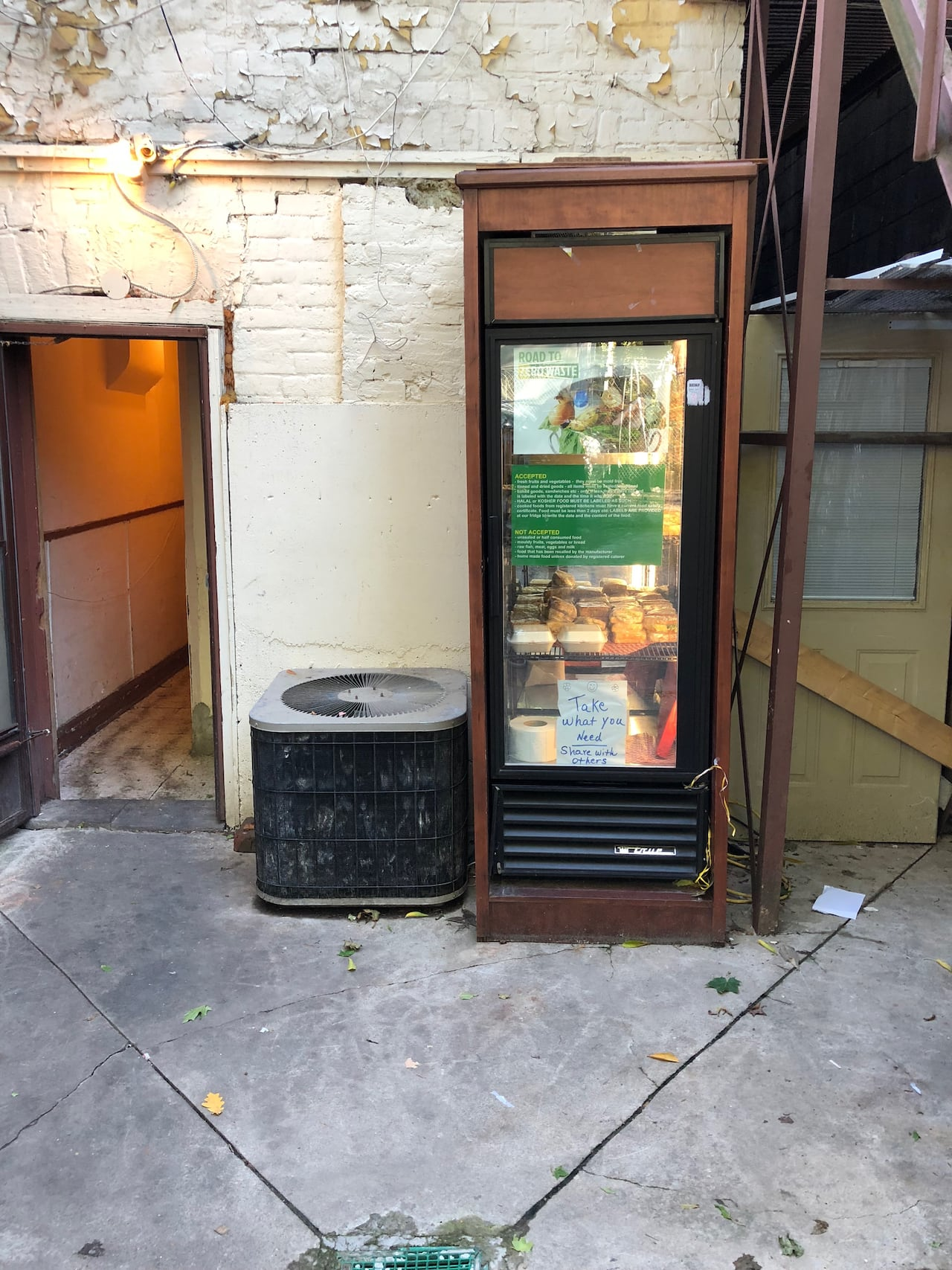 Fridges Canada Tackling Food Waste Local Organization Opens Community Fridges In