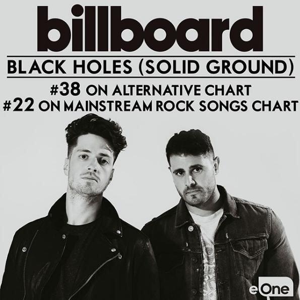 Windsor musicians hit US Billboard top 100 chart with rock single