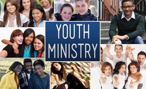 Church PowerPoint Template Youth Ministry Collage - SermonCentral