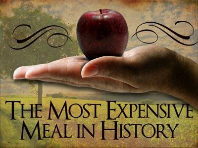 Church PowerPoint Template The Most Expensive Meal in History - history powerpoint template