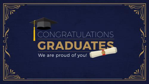 PowerPoint Template about graduation - SermonCentral