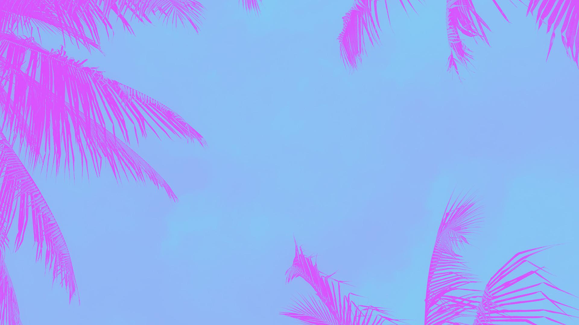 Church PowerPoint Template Summer Palms - SermonCentral