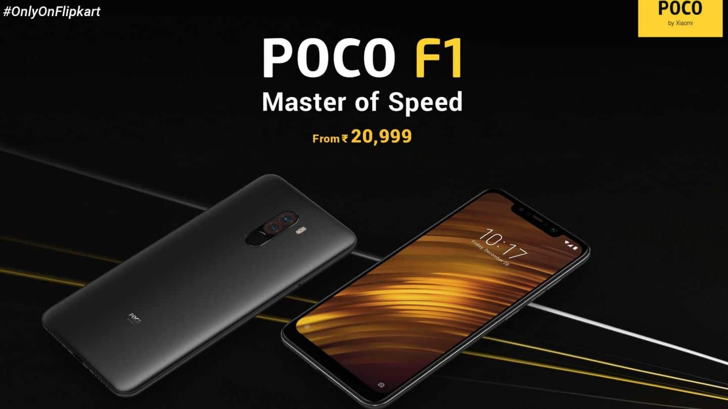 Poco Sale Poco F1 Goes On Sale Today Via Flipkart And Mi
