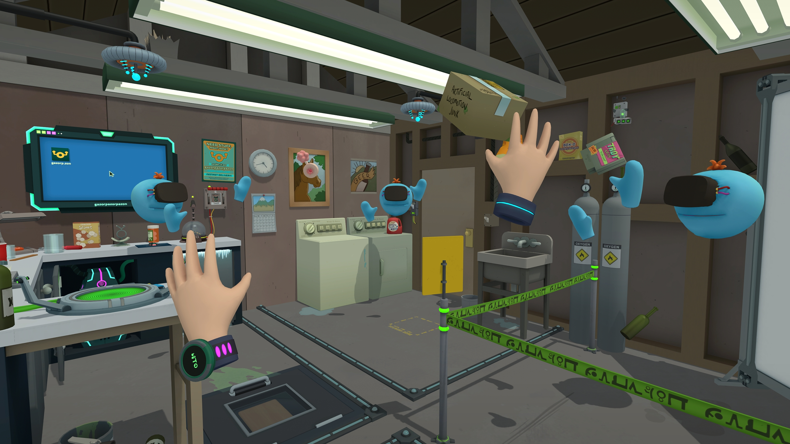Minecraft 3d Live Wallpaper Virtual Rick Ality