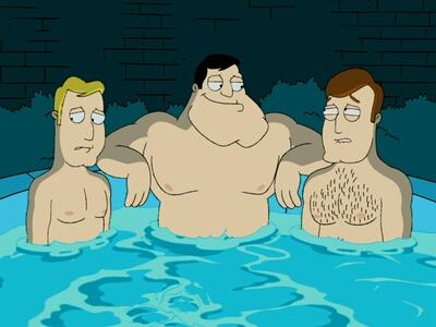 gay college hot tub