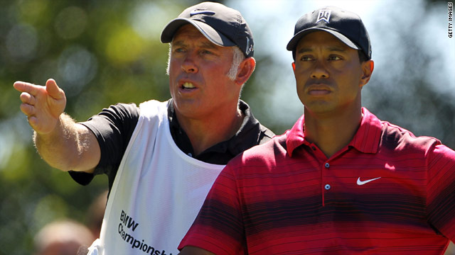 tiger woods new zealand caddy