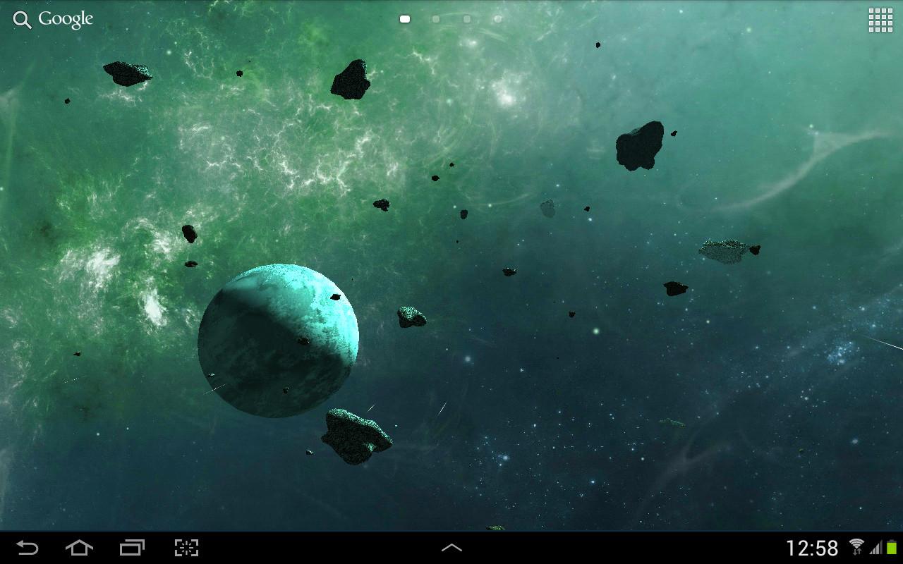 3d Parallax Wallpaper Apk Download Asteroids 3d Live Wallpaper Free Android Live Wallpaper