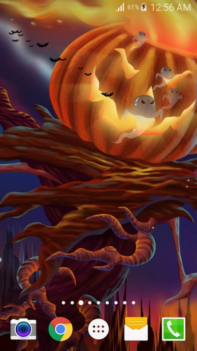 Halloween Live Wallpaper PRO Free Android Live Wallpaper download - Appraw
