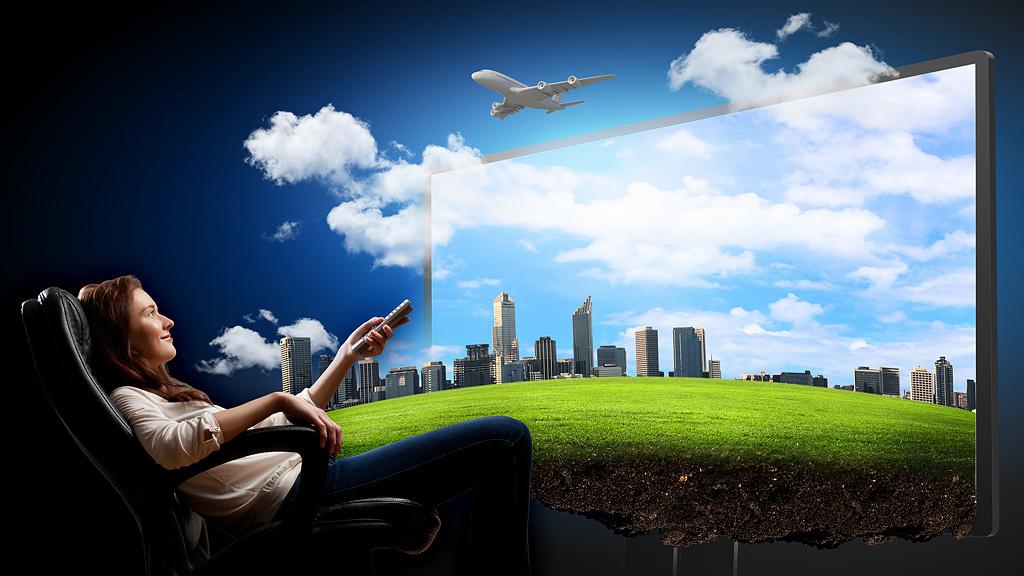 3d Office Wallpaper 3d Tv Ohne Brille So Funktioniert Die Neue Technik