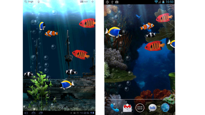Samsung Galaxy S4 3d Live Wallpaper Live Wallpaper Homescreen Animieren Bilder Screenshots