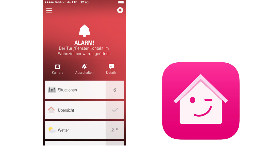 Leser Testen Sicherheits Set Der Telekom Computer Bild - Telekom Home Security