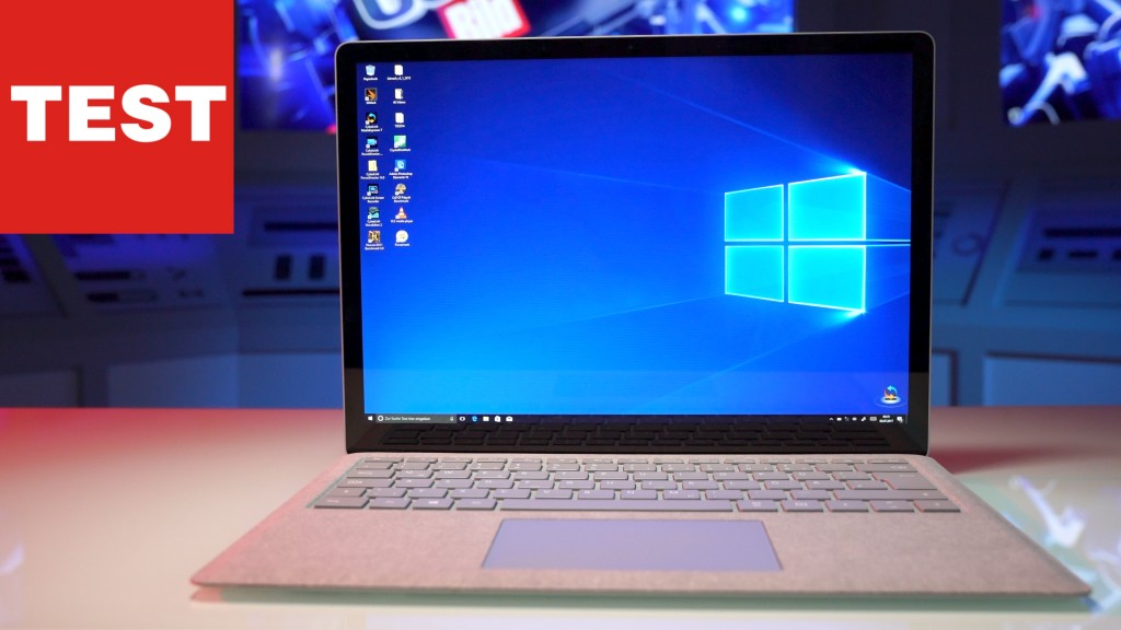 Küche Mobil Microsoft Surface Laptop: Windows 10 Mit Alcantara