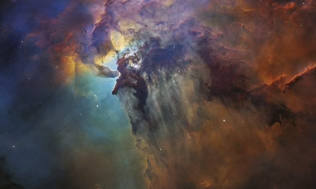 3d Galactic Wallpaper Take A Tour Of The Lagoon Nebula Nasa Releases Mind