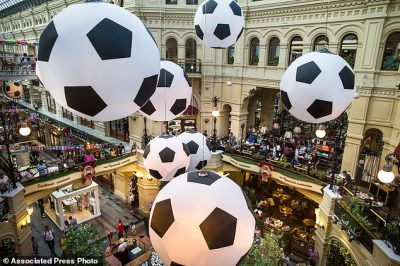 World Cup fans rev up revenues for sanctions-hobbled... | Daily Mail Online