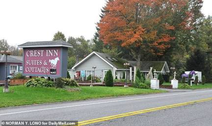 This is the motel Hussain runs in Gansevoort, New York, outside Saratoga Springs. He bought it in 2006 while working as an informant for the FBI