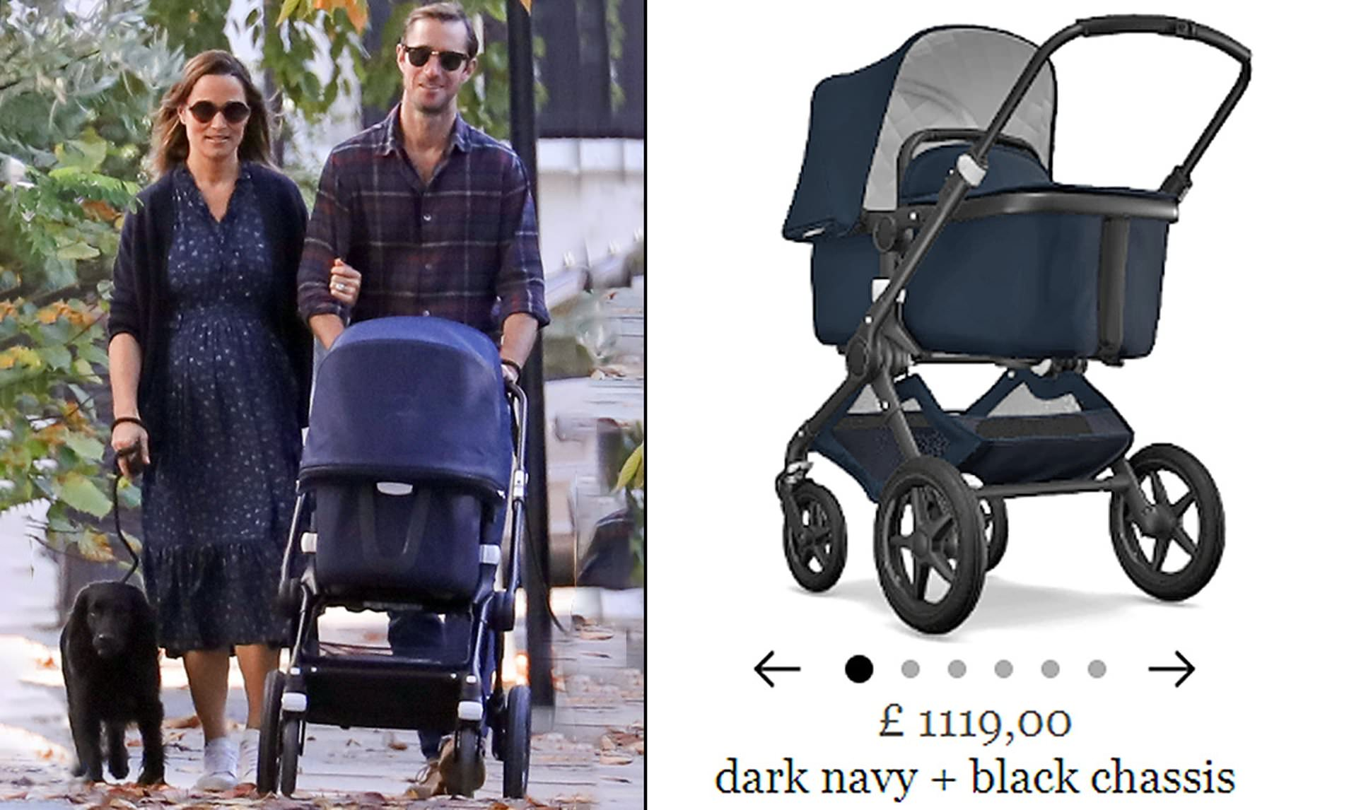 Baby Buggy Mercedes Pippa Middleton And James Matthews Choose Bugaboo Pushchair