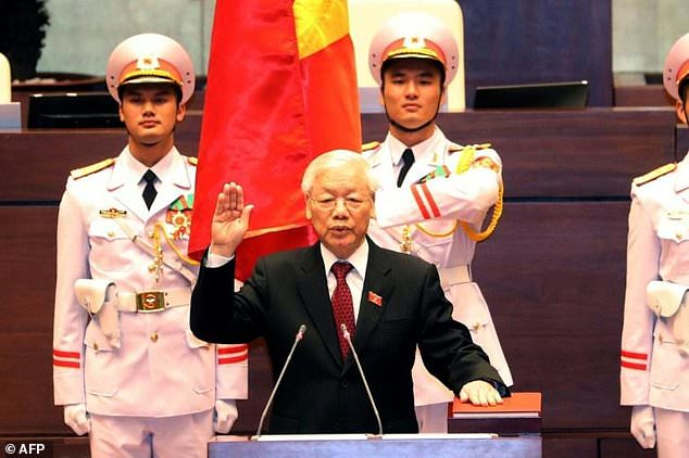 New Vietnam President Sworn In After 998 Vote Daily