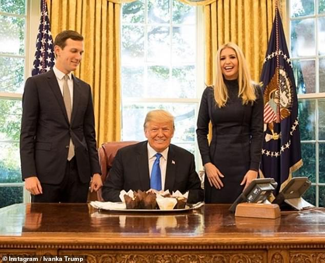 Ivanka Trump shares birthday image taken in the Oval Office with