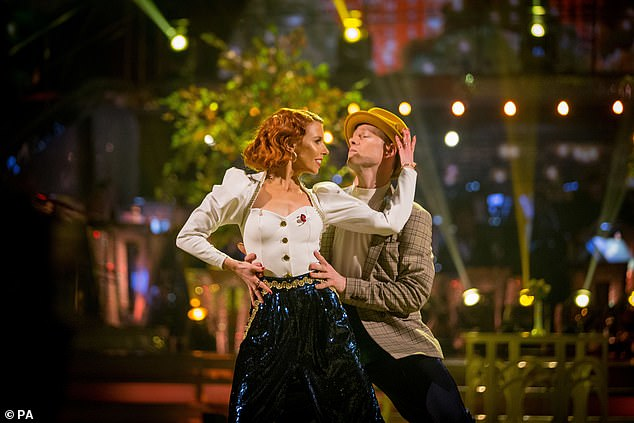 Strictly39s Stacey Dooley Ignores Painful Rib Injury As She