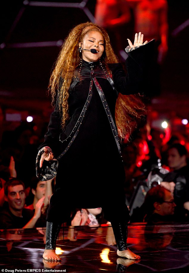 MTV EMAs 2018 Janet Jackson, 52, delivers #MeToo speech while