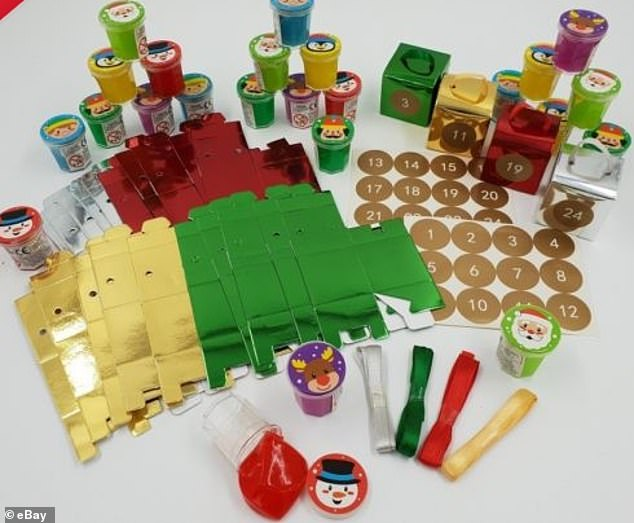 Home Bargain39s Sold Out 7 Slime Advent Calendar Is Being