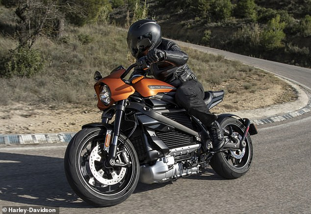 Harley Davidson reveals its first electric motorcycle Daily Mail