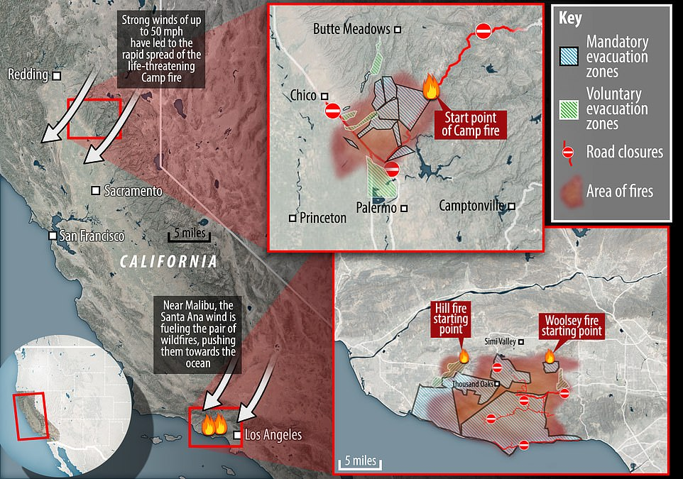 Wildfire in Paradise is now joint deadliest in California\u0027s history