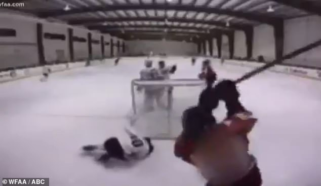 Texas teenager suspended from USA Hockey indefinitely after brutal