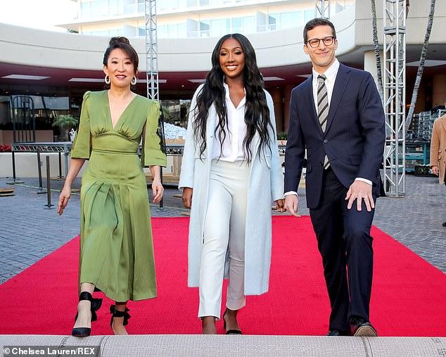Idris Elba39s Daughter Isan Cuts A Stylish Figure In Powder