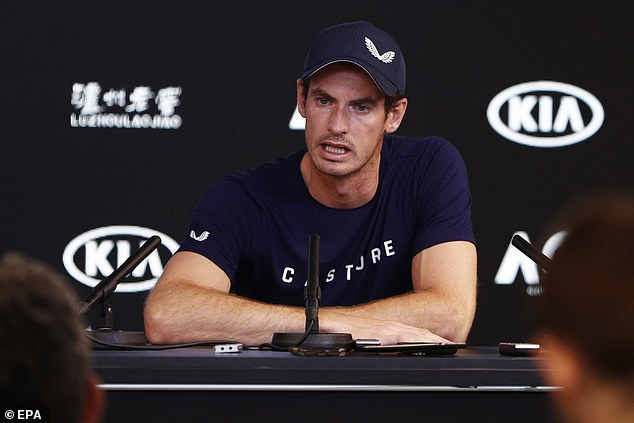 Andy Murray signs with clothing brand Castore ahead of Australian