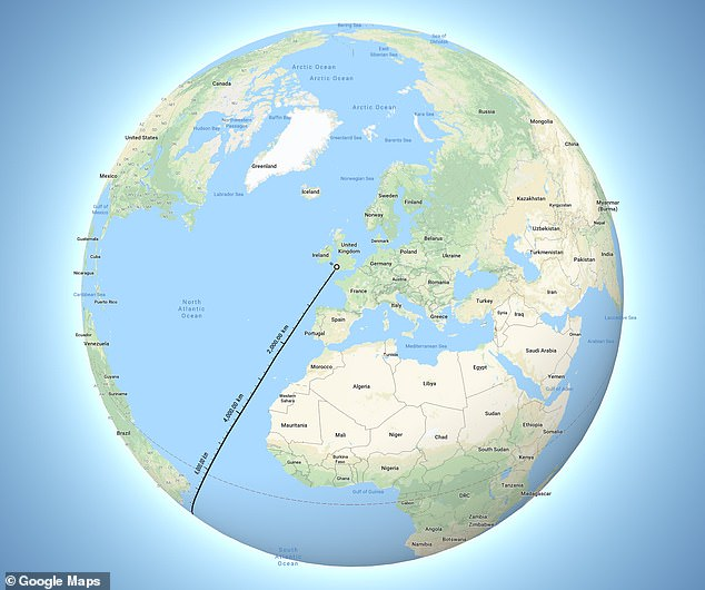Amazing map proves you can sail from Britain to New Zealand in a