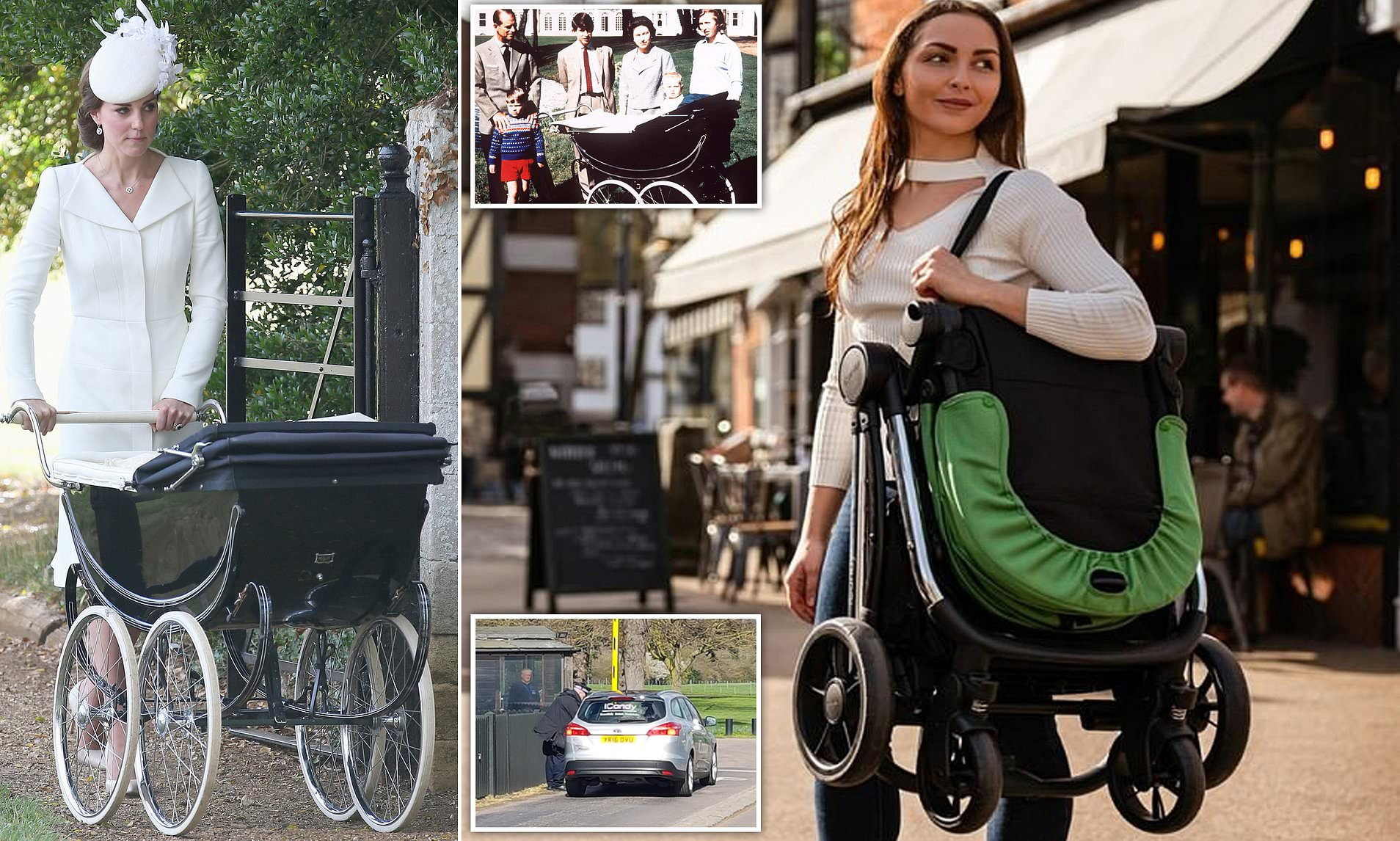 Travel Trio Musical Pram Tie Trendy Pram Makers Icandy Arrive At Frogmore Estate Amid