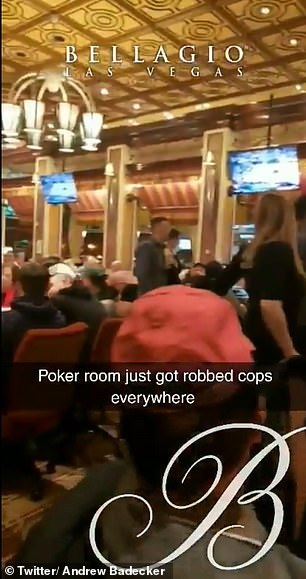 Incredible Bellagio footage shows moment armed robber attempted to