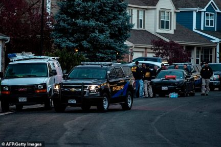 Authorities were seen outside a home in Highland Springs believed to be owned by Erickson's parents, James and Stephanie, on Tuesday night