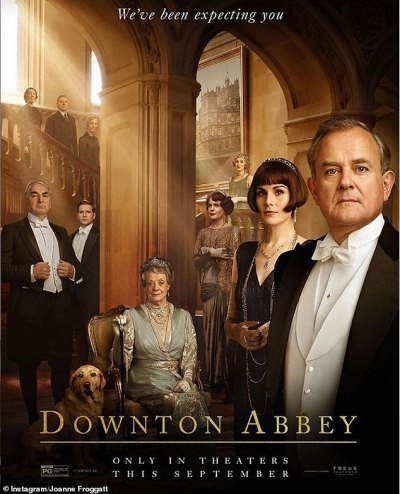 Joanne Froggatt reveals new Downton Abbey movie poster for hotly-anticipated film | Daily Mail ...