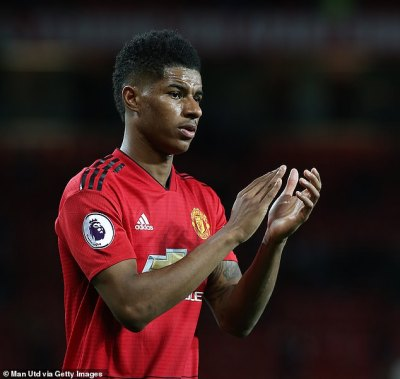 Man United to activate Rashford extension clause amid Barca interest   Daily Mail Online
