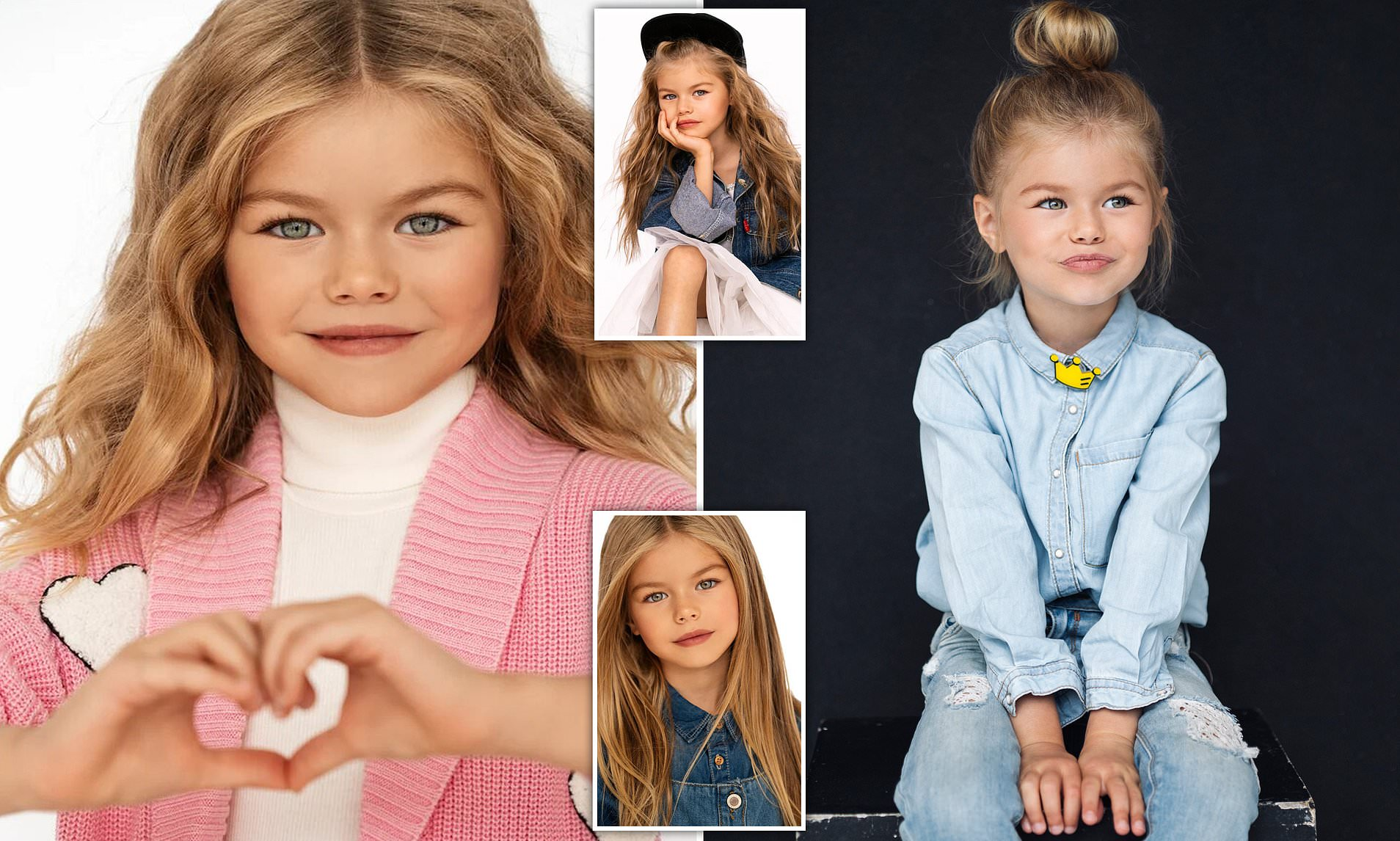 Baby Model Berlin Young Model Six Has Been Described As The Cutest Girl In