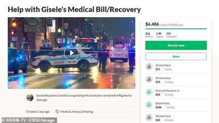 So far the GoFundMe page has raised over $6,400 as of Monday afternoon