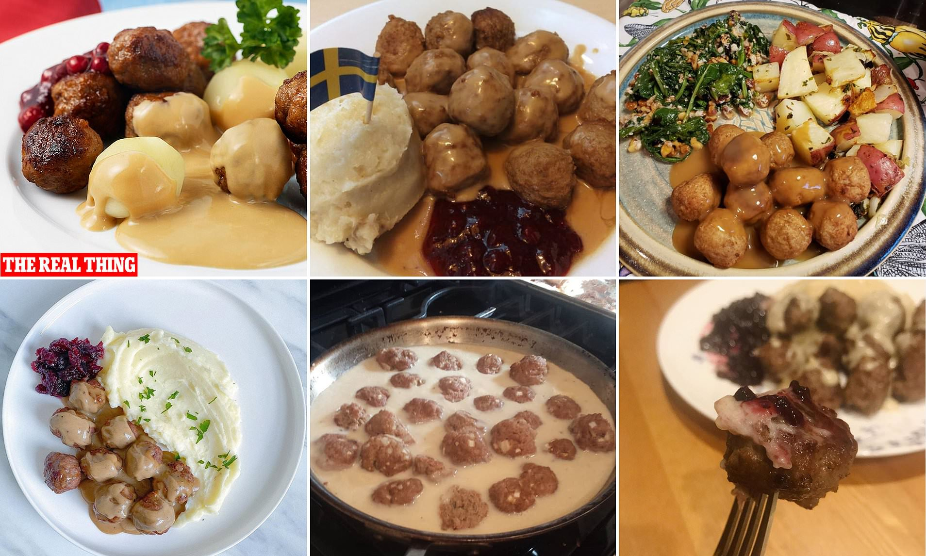 People Share Pictures Of Their Very Successful Attempts At Making Ikea S Meatballs Daily Mail Online