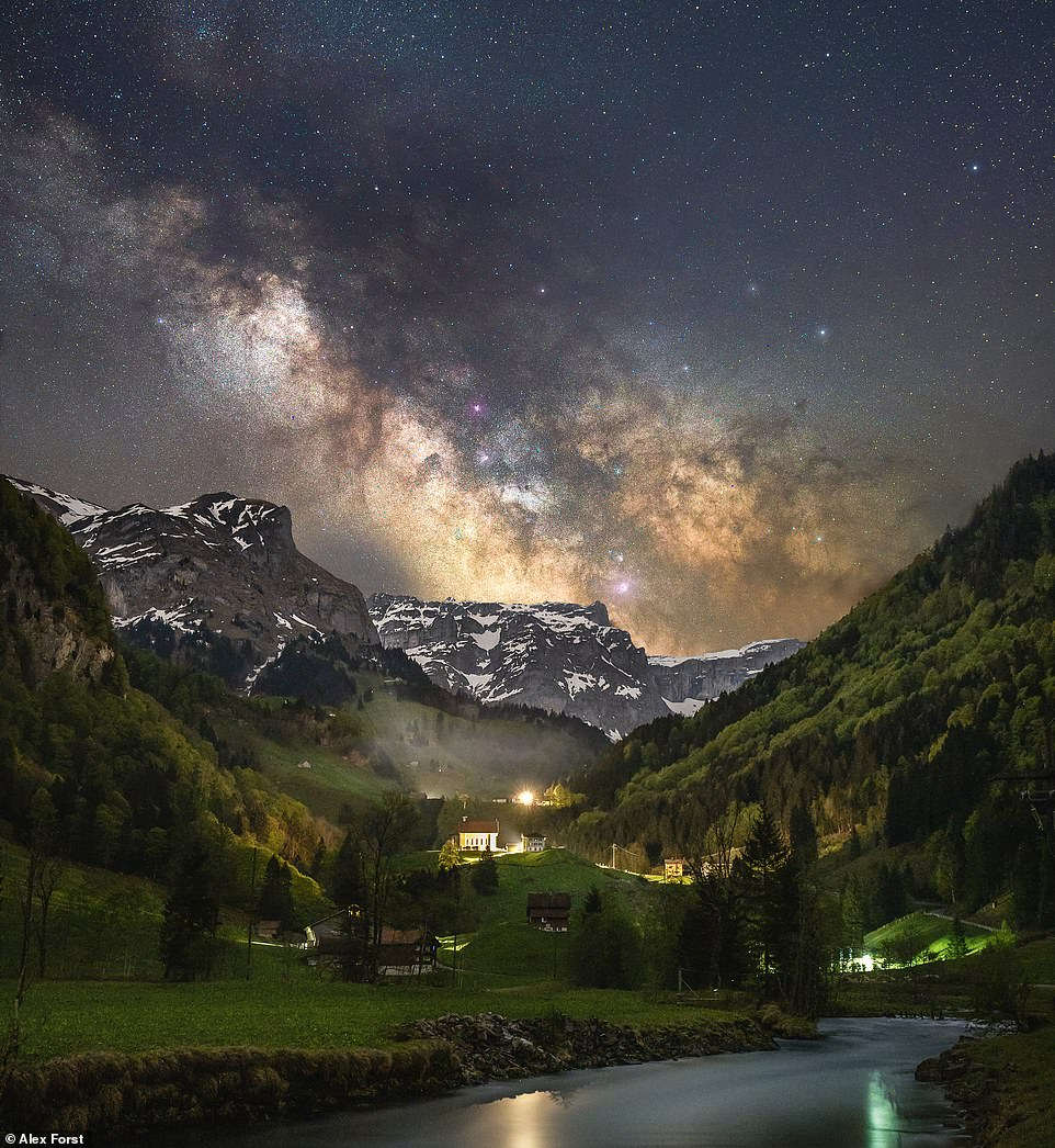 Enchanting pictures by Alex Forst of beautiful landscapes captured under magical star-filled skies – ReadSector
