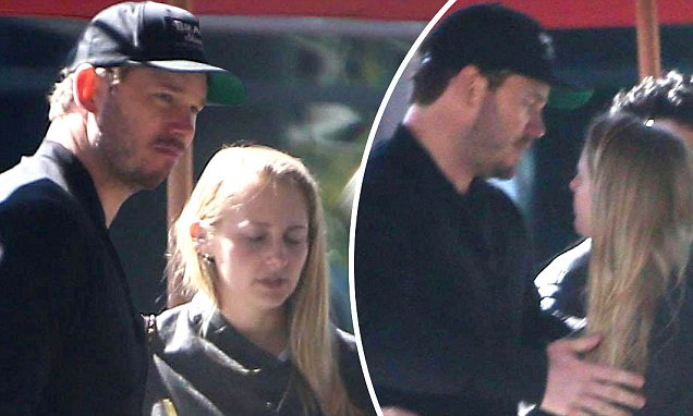 Chris Pratt Enjoys Coffee Date With Mystery Woman In La