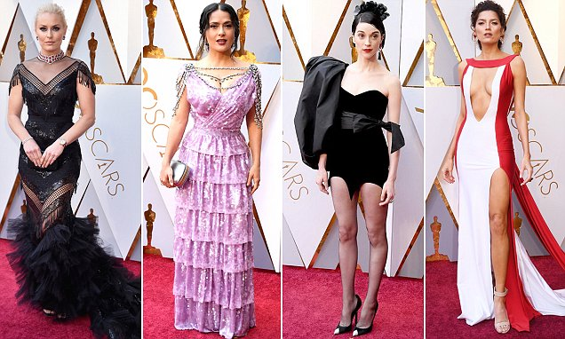 Oscars 2018 Worst Dressed Stars On The Red Carpet Daily