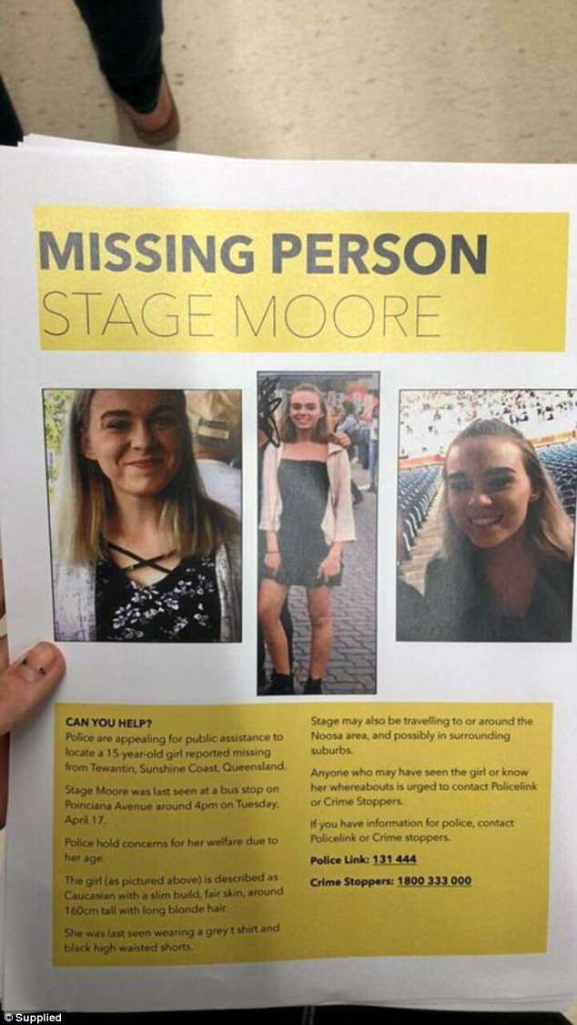 Mother\u0027s desperate plea after her teenage daughter went missing a - missing person posters