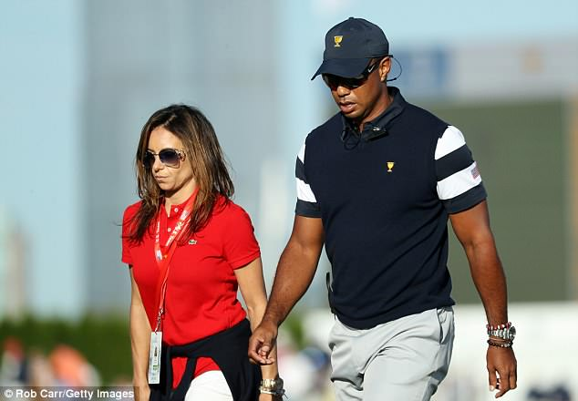 golf tiger woods today october 2018