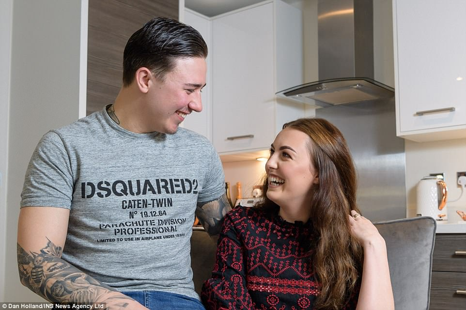 Make-up artist and catering manger buy first home aged just 19 and
