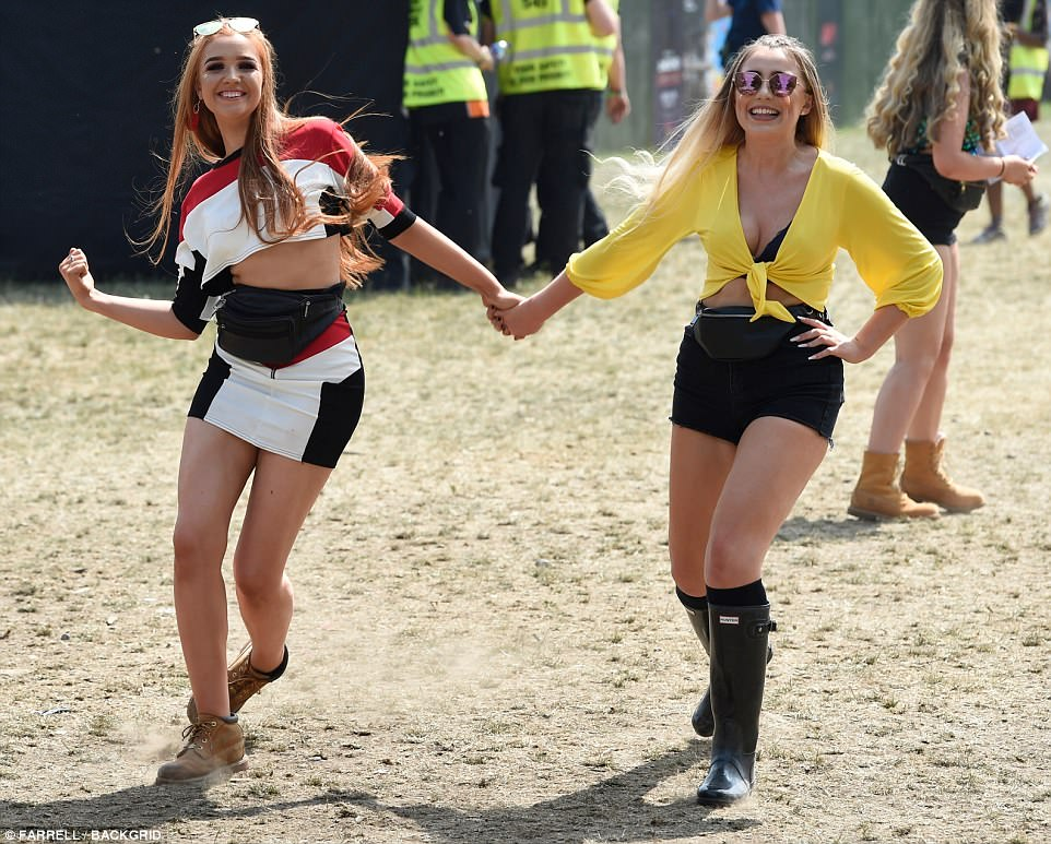 Parklife Festival Continues And Revellers Arrive In